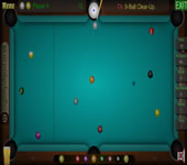 9 Ball Clear Up